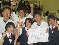 準優勝の県立能代高校(秋田)